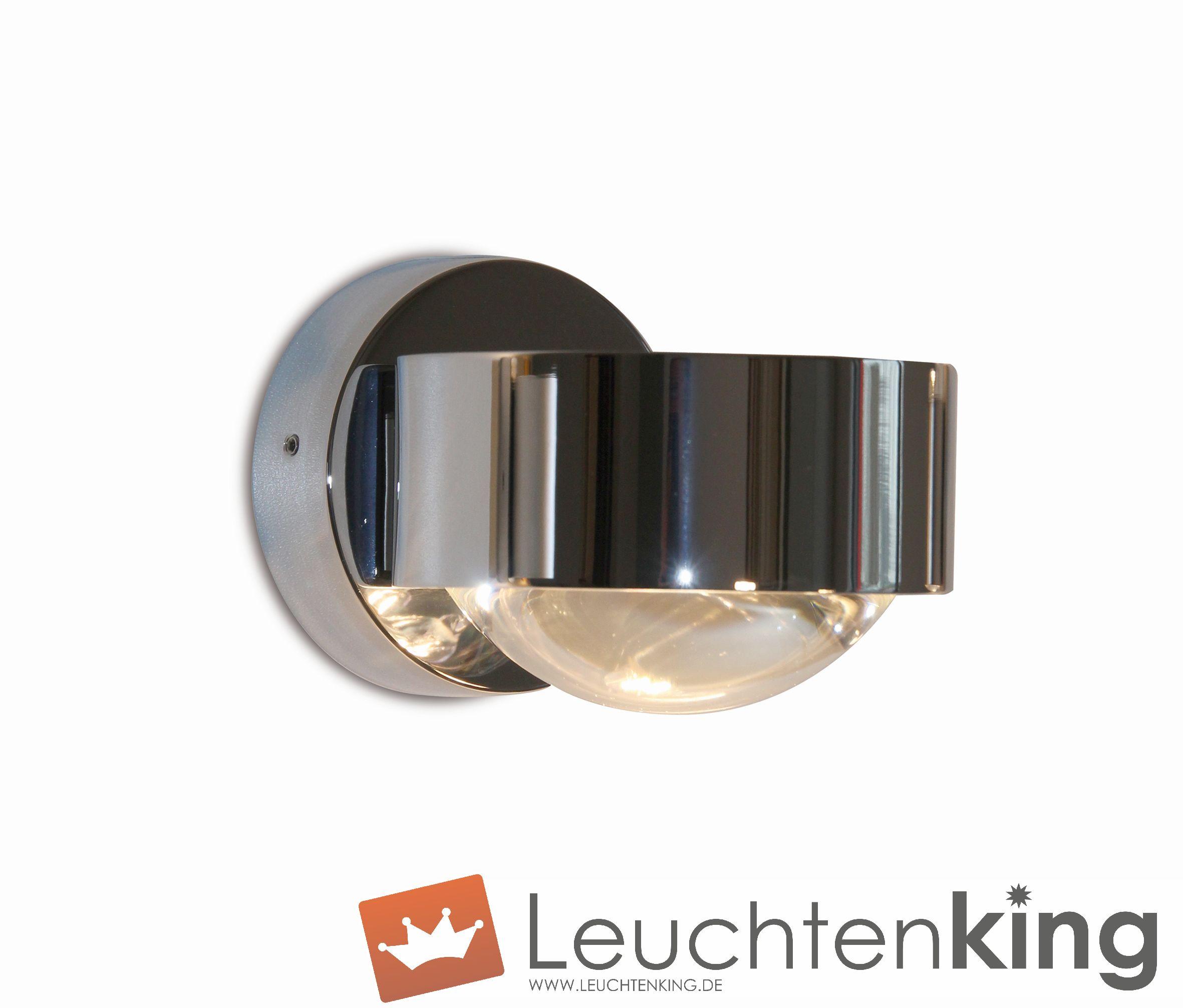 Top Light LeuchtenPuk Wall  mit G9 Fassung + LED Retrofit2-0812