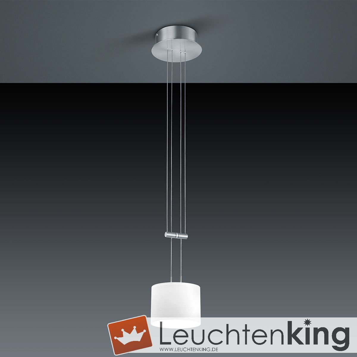 LED-Pendelleuchte Grazia/ 1 flammig von BANKAMP Leuchtenmanufaktur