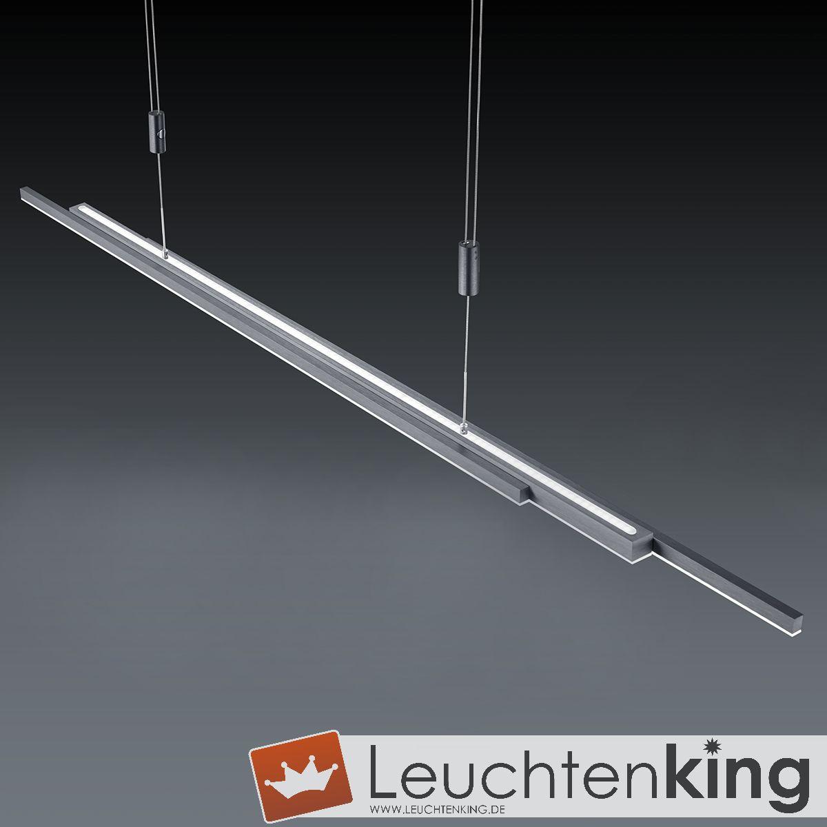BANKAMP LeuchtenmanufakturLED-Pendelleuchte L-lightline/ up and down2154/1-39