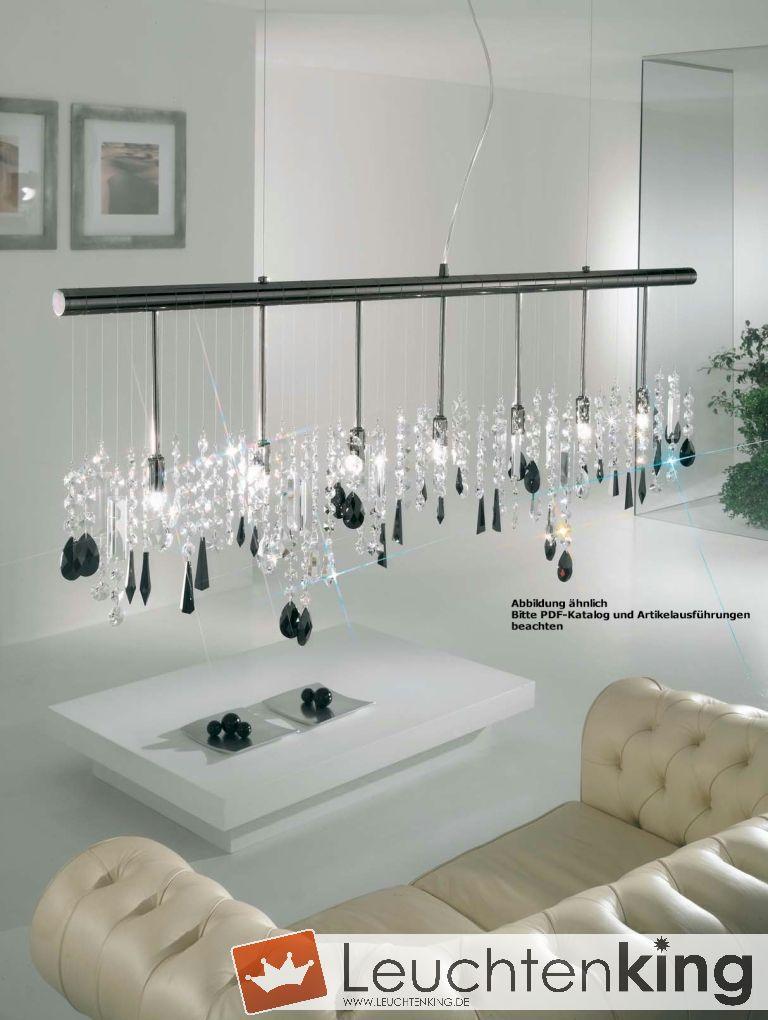 Stretta Luster - chandelier vergoldet von KOLARZ Leuchten