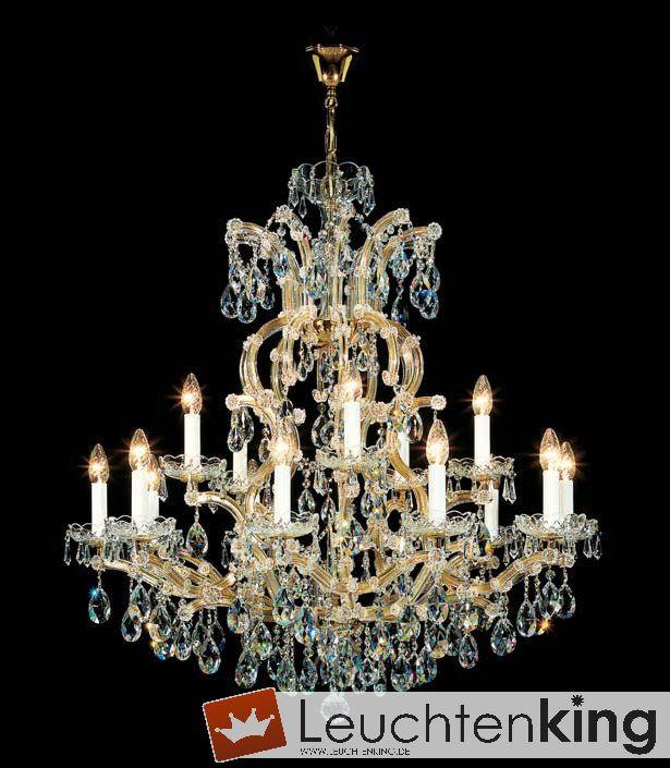 Luster, chandelier - Maria Theresia Kronleuchter von KOLARZ Leuchten