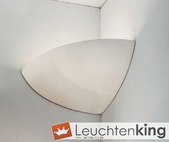 KOLARZ LeuchtenBisquitte Keramik Wandleuchte / Eckwandleuchte588.64