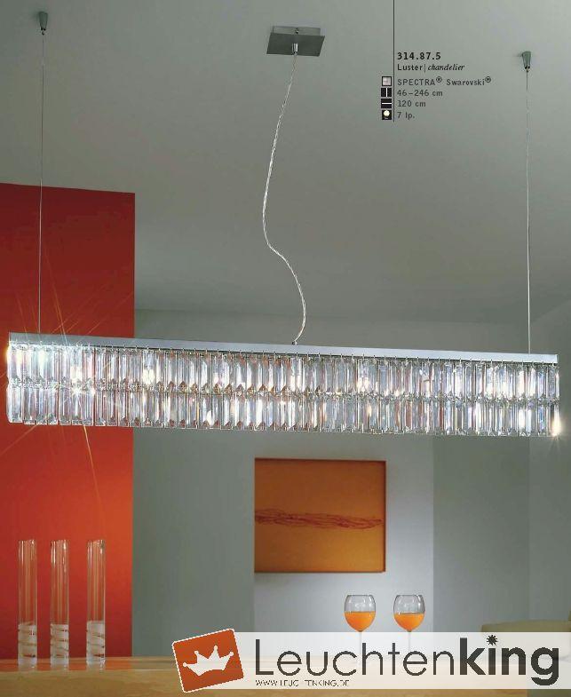 Luster, chandelier - Prisma von KOLARZ Leuchten